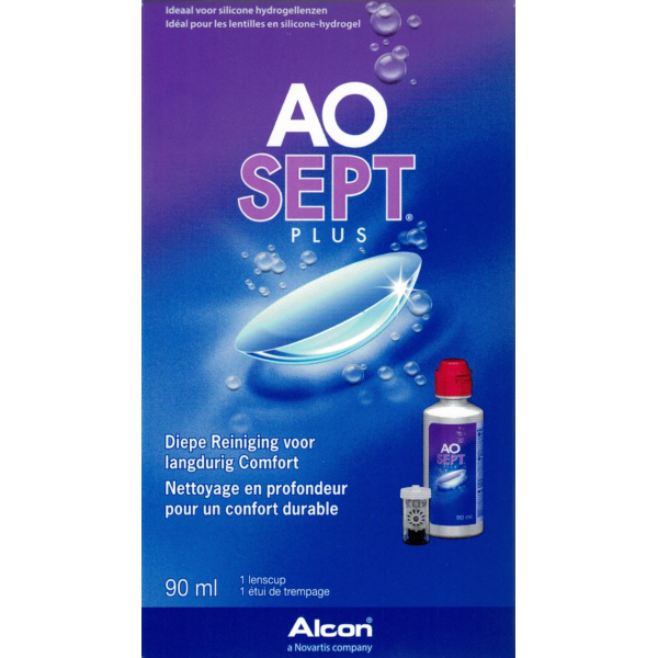 AOSEPT PLUS Travel Pack 90ml