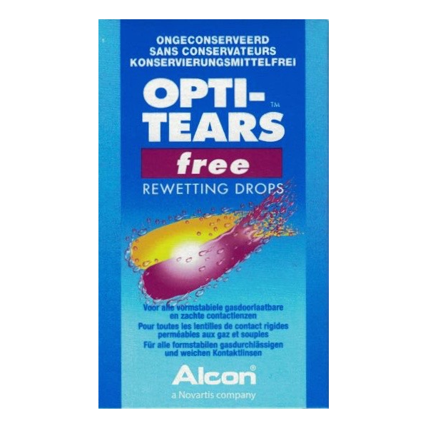 OPTI-TEARS Free Rewetting Drops 30x0.4ml