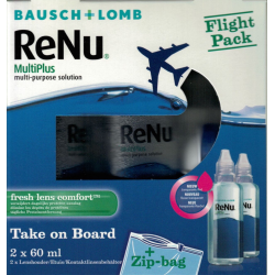 Renu MultiPlus flight pack 2x60ml