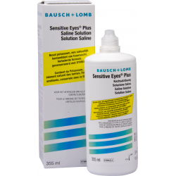 Sensitive Eyes Saline Solution 355ml