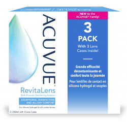 Acuvue RevitaLens Multi-Purpose Disinfecting Solution multipack 3x360ml
