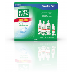 OPTI-FREE Express multipack 3x355ml 1x120ml