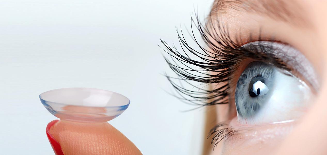 Web-Shop für Kontaktlinsen